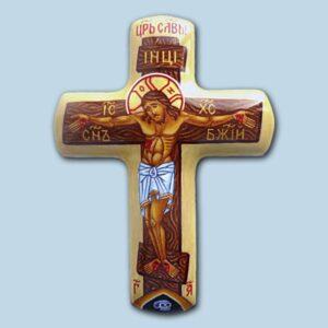 Иконы и портреты на заказ в технике финифти, наперсный крест купить, вставка крест