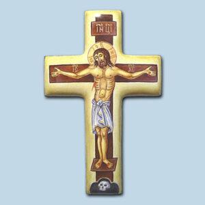 Иконы и портреты на заказ в технике финифти, наперсный крест купить, финифть крест